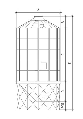 Обозначения размеров конусных силосов_page-0001